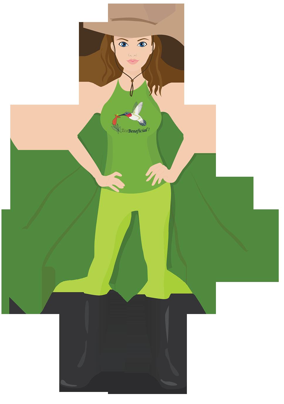EcoBeneficial Superhero