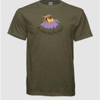 Honey Bee Dark Green - EcoBeneficial T-Shirts