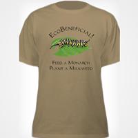 EcoBeneficial Caterpillar beige T-shirt