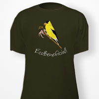 EcoBeneficial-Goldfinch-Tshirt