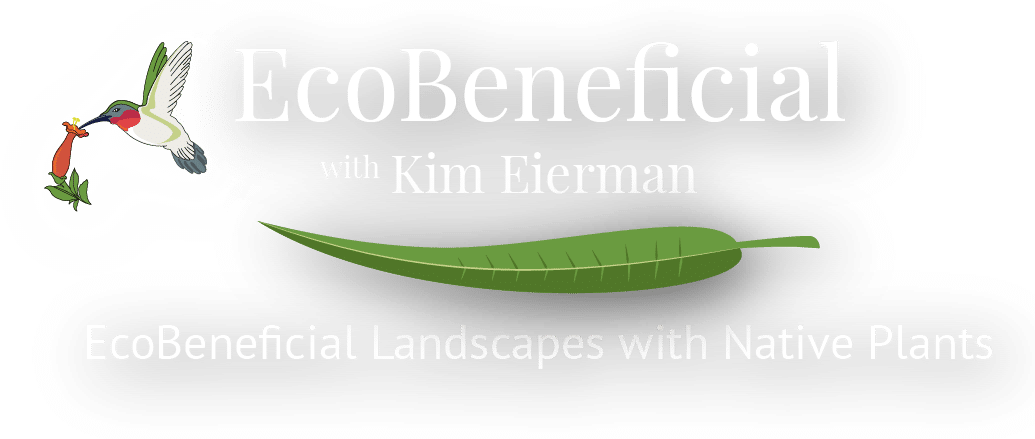EcoBeneficial Logo, EcoBeneficial Landscapes and Native Plants